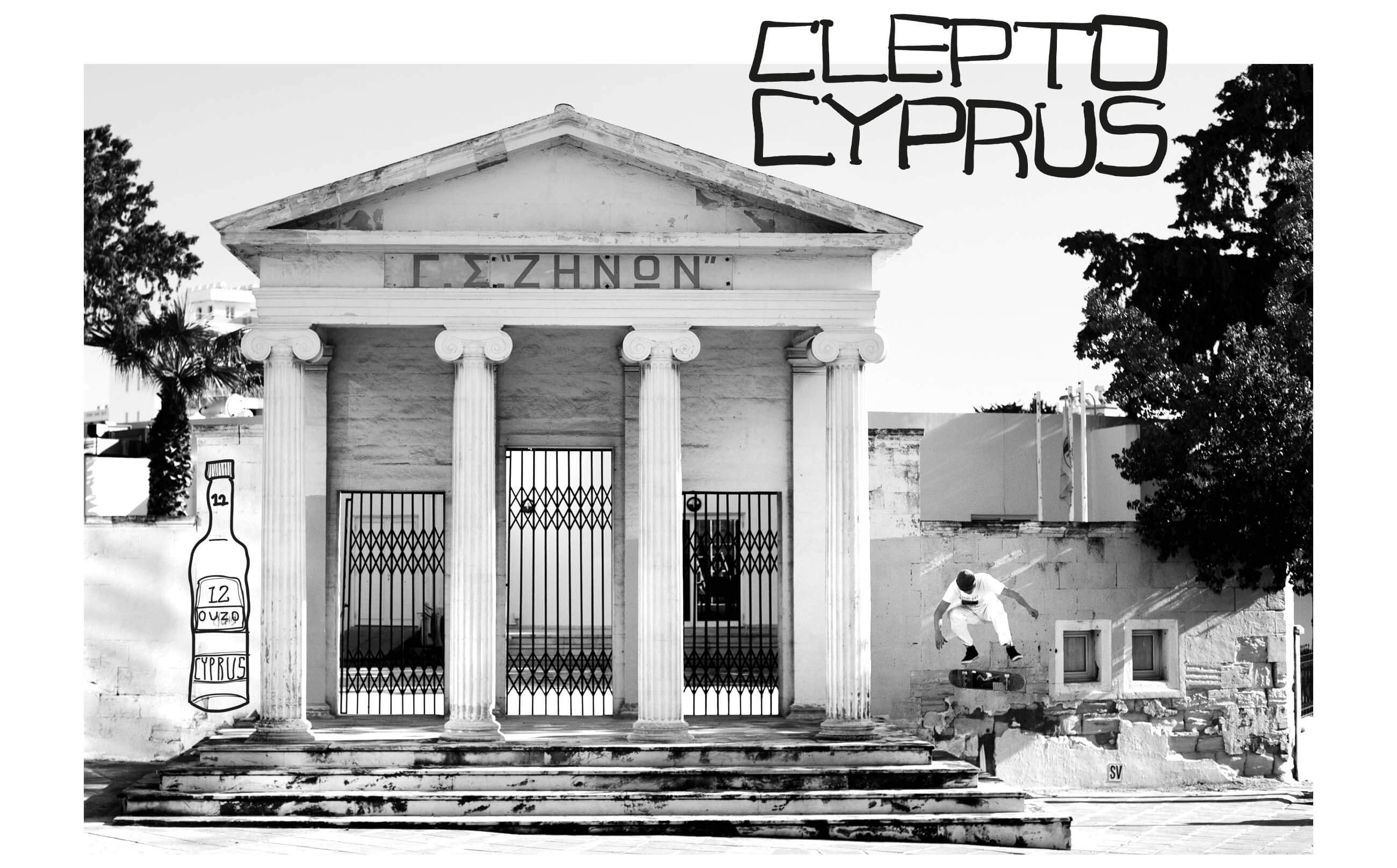 CLEPTO CYPRUS Pocket Skateboard Magazine